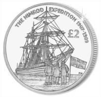SOUTH GEORGIA & S. SANDWICH 2 POUNDS 2009 THE NIMROD EXPEDITION 1907-1909 - Monedas