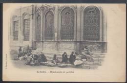 W431 LE CAIRE - MARCHANDES DE GALETTES ( RETRO INDIVISO ) - Cairo