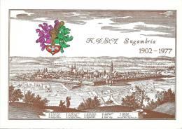 Jena - Mittelalterliche Ansicht Mit Wappen  (Jubiläum Sugambria)            1977 - Jena