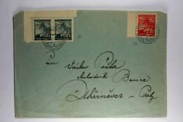 Germany: Böhmen Und Mähren 1941 Cover Mixed Stamps