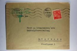 Germany: Böhmen Und Mähren 1941 Company Cover Budweis