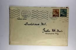 Germany: Böhmen Und Mähren 1941 Cover Prag Mixed Stamps