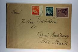 Germany: Böhmen Und Mähren Cover Mixed Stamps