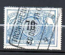 CF 23 70c Bleu Oblitération TRONCHIENNE - 1895-1913