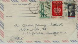=usa  Briefe 1966 Flugpost - United States