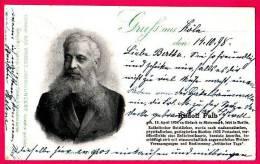 PC4522 UB 1898 Postcard: Portrait Geologist Rudolf Falb - Famous People
