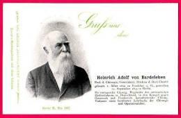 PC5899 UB Postcard: DGJ: Surgeon Heinrich Von Bardeleben - Famous People