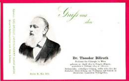 PC5903 UB Postcard: DGJ: Surgeon Dr. Theodor Billroth - Famous People