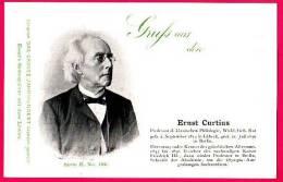 PC5910 UB Postcard: DGJ: Archaeologist Ernst Curtius - Famous People