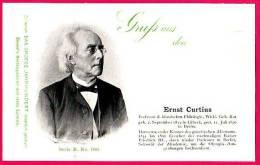 PC5911 UB Postcard: DGJ: Archaeologist Ernst Curtius - Famous People