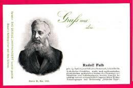 PC5917 UB Postcard: DGJ: Geologist Rudolf Falb - Famous People