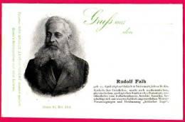 PC5918 UB Postcard: DGJ: Geologist Rudolf Falb - Famous People