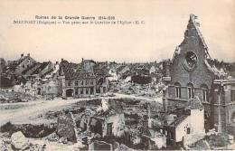 Nieuwpoort Ruines 1914-18 Lot 2 Cartes - Nieuwpoort