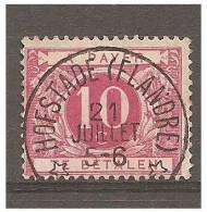 Mw-1682  Ocb TA 5  HOFSTADE FLANDRE  Sterstempel - Postzegels
