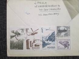 POLAND TO UK REGISTERED COVER - 1944-.... Republic