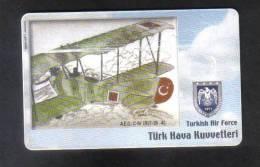 TURKEY - TURKISH AIR FORCE PHONECARD - Turquie