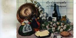 Carte-Recette Des Escargots De Bourgogne  Voir A Verso - Recetas De Cocina