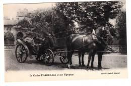 75 - Paris - Le Cocher Pradeleix Et Son équipage - Editeur: André Marcel - Artisanry In Paris
