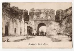 BRINDISI - Porta Lecce - Bakc Is Written In 1915 - Schiena Scrive - Brindisi
