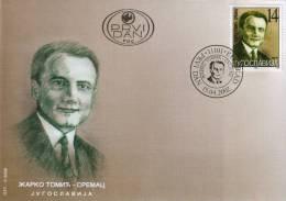 Yugoslavia, 2002, Zarko Tomic - Sremac, FDC - FDC