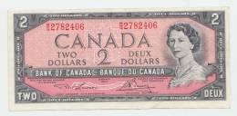 CANADA 2 DOLLAR 1954 (Lawson-Bouey 1973-75) VF+ P 76d 76 D - Canada
