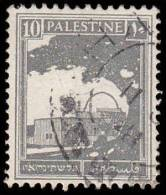 Palestine Scott # 73, 10m Deep Gray (1927) Rachel's Tomb, Used - Palestine