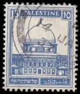 Palestine Scott # 76, 15m Ultramarine (1932) Mosque At Omar, Used - Palestine