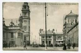 BELGIUM - AK 154246 Bruxelles - Exposition Bruxelles 1910 - Les Pavillions De Bruxelles Et Du Génie Militaire - Weltausstellungen