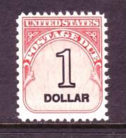 U.S. J 100  ** - Postage Due
