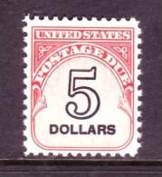 U.S. J 101  ** - Postage Due