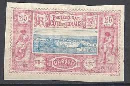 COTE DES SOMALIS  N� 12  NEUF* TTB