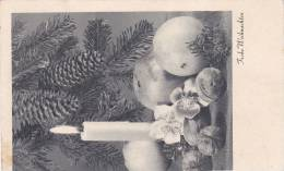 Feldpost WW2: Ln. Ers. Kompagnie 20/17 In Wien Dtd Wien-Hadersdorf 15.12.1941 - Christmas PC (X9) - Militares