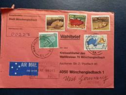 35/045  LETTER TO GERMANY - 1980-89 Elizabeth II