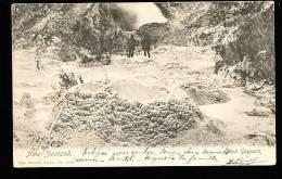 NOUVELLE ZELANDE DIVERS / Mud Geysers / - Nouvelle-Zélande