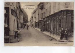 BEAUREPAIRE - Rue De La République  - Très Bon état - Beaurepaire