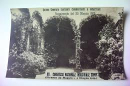 FIRENZE  1919 XII. CONGRESSO NAZIONALE INDUSTRIALI COMMERCIANTI  NON VIAGGIATA COME DA FOTO  FORMATO PICCOLO FOTOGRAFICA - Manifestazioni