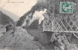 Afrique-Algérie  (Blida) Gorges De La Chiffa  (chemin De Fer Train Vapeur)(Collection Idéale P-S N°74)*PRIX FIXE - Blida