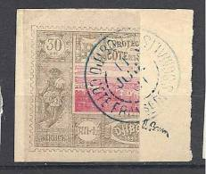 COTE DES SOMALIS N� 13b  OBL TTB Sign� BRUN