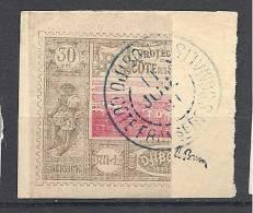 COTE DES SOMALIS N° 13b  OBL TTB Signé BRUN - French Somali Coast (1894-1967)