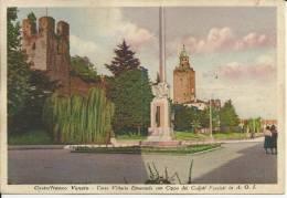 CARTOLINA 1939 - CASTELFRANCO VENETO (TREVISO) - CORSO VITTORIO EMANUELE - Italie