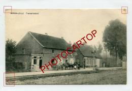 BERGH-LELLE-TRAMSTILSTAND-Attelage-Periode Guerre 14-18-1WK-BELGIQUE-BELGIEN-Feldpost- - Kampenhout