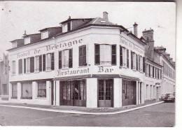 27 Hôtel De Bretagne - EVREUX - Dépliant Publicitaire - Restaurant Bar - DS Citroen - LE TRIANON  ORCHESTRE - Evreux