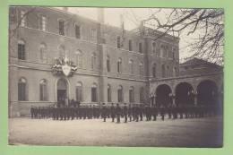 Villefranche Sur Saône : COLLEGE De Mongré 1919, 3e Division De Gymnastique. Scoutisme, Cadets. 2 Scans. CARTE PHOTO - Scoutisme