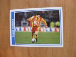 FOOT STICKER FRANCE PANINI SUPERFOOT 1999/2000 - N°063 DANIEL MOREIRA - RC LENS - STICKER NEUF - Edition Française