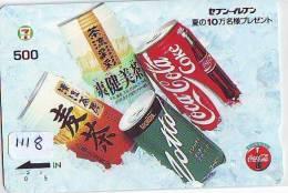 Télécarte Japon * COCA COLA  (1118) JAPAN PHONECARD * TELEFONKARTE * COKE * - Publicidad