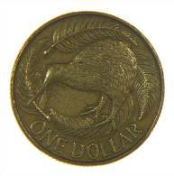 NUOVA ZELANDA - 1 DOLLAR 1990 - Nuova Zelanda