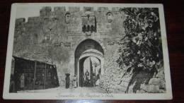 JERUSALEM .ST. STEPHAN ´S GATE - LEHNERT LANDROCK - UNCIRCULATED POSTCARD - Israel