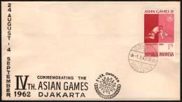INDONESIA DJAKARTA 1962 - 4th AIAN GAMES - WRESTLING - Lotta
