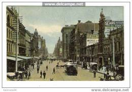 AUSTRALIE  /  MELBOURNE  /  COLLINS  STREET , LOOKING  WEST  ( + TRAMWAY ) - Melbourne