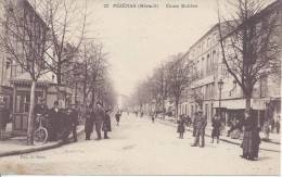 34 - HERAULT - PEZENAS - LE COURS MOLIERE - ANIMES - TB - - Pezenas